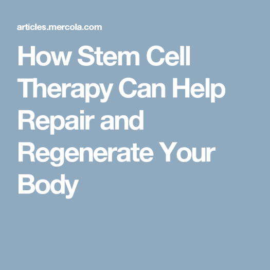 stem cell for knee