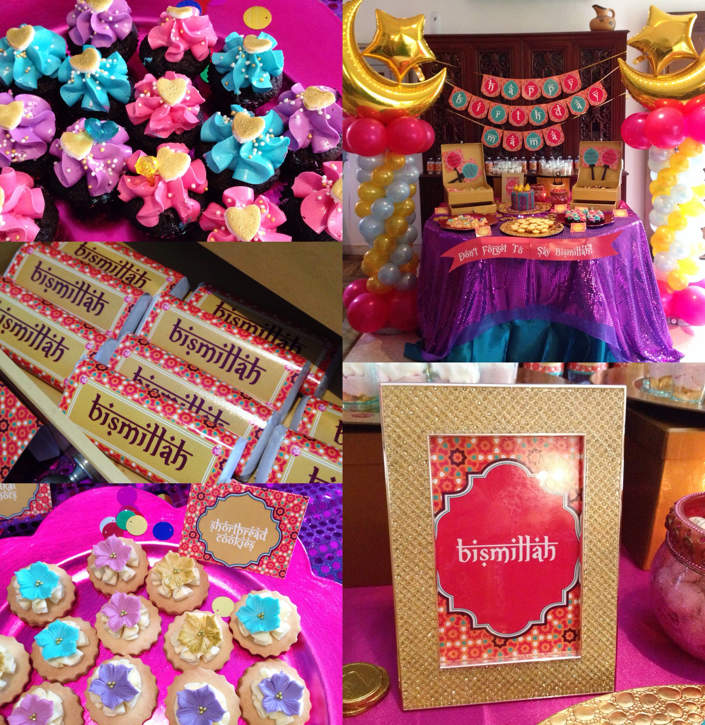 Arabian Themed Party Dessert Birthday Dessert Table