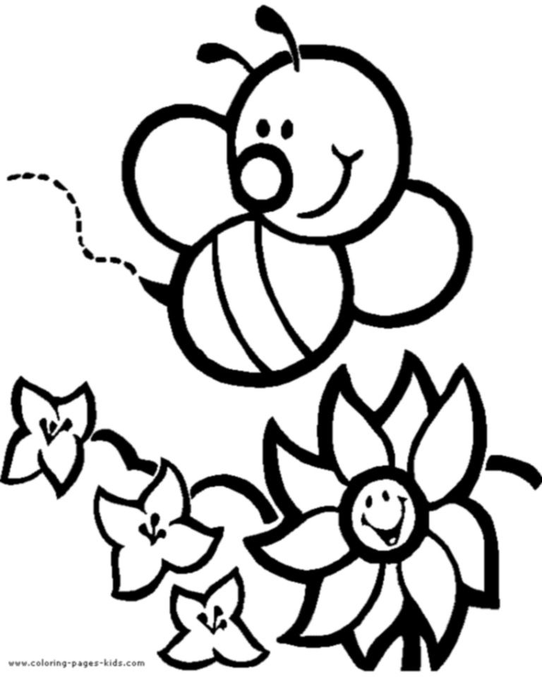 1000 images about bee coloring pages on pinterest coloring