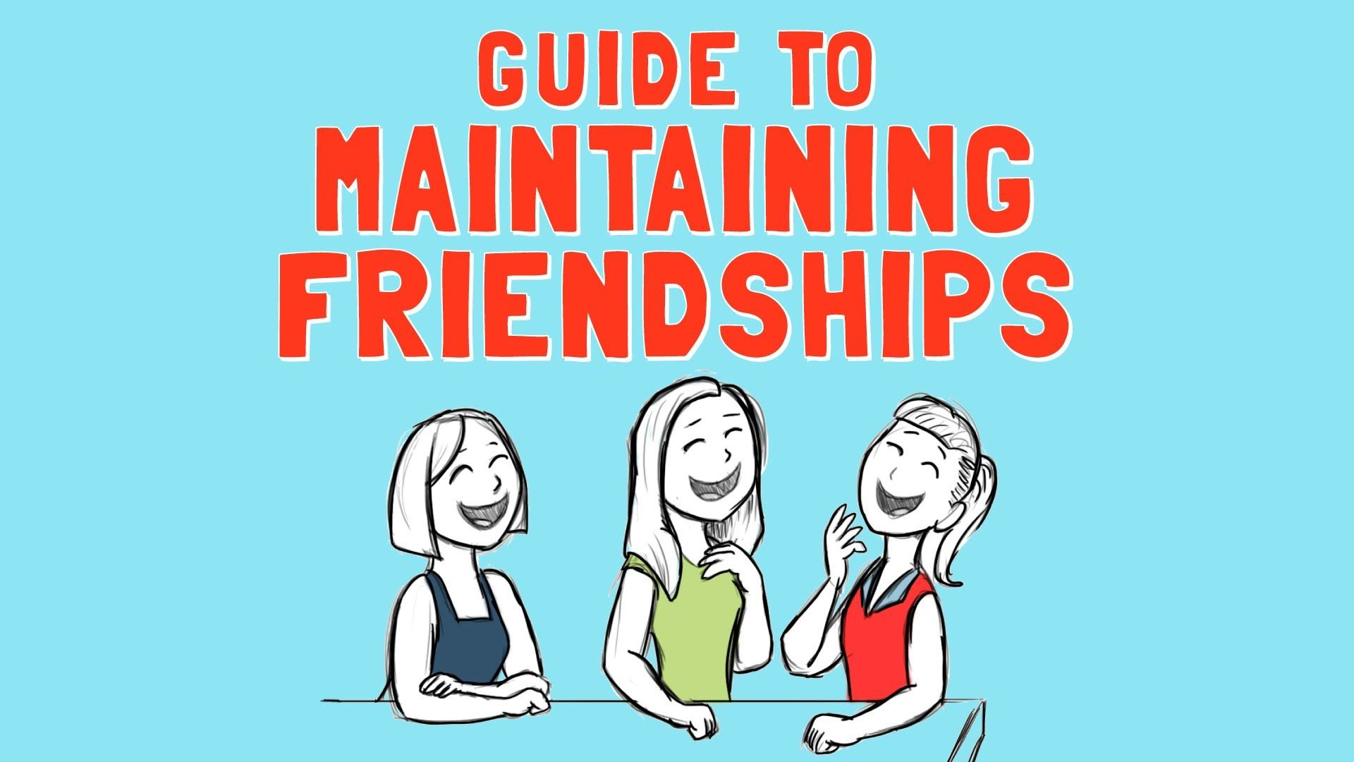 Guide To Maintaining Friendships These Steps Can Work For Young Children With The Help Of