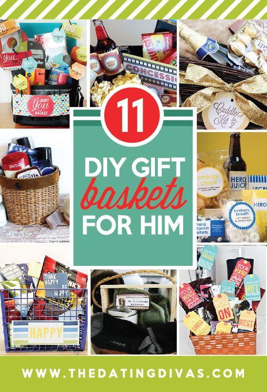 Boyfriend Gift Basket On Pinterest Care Package