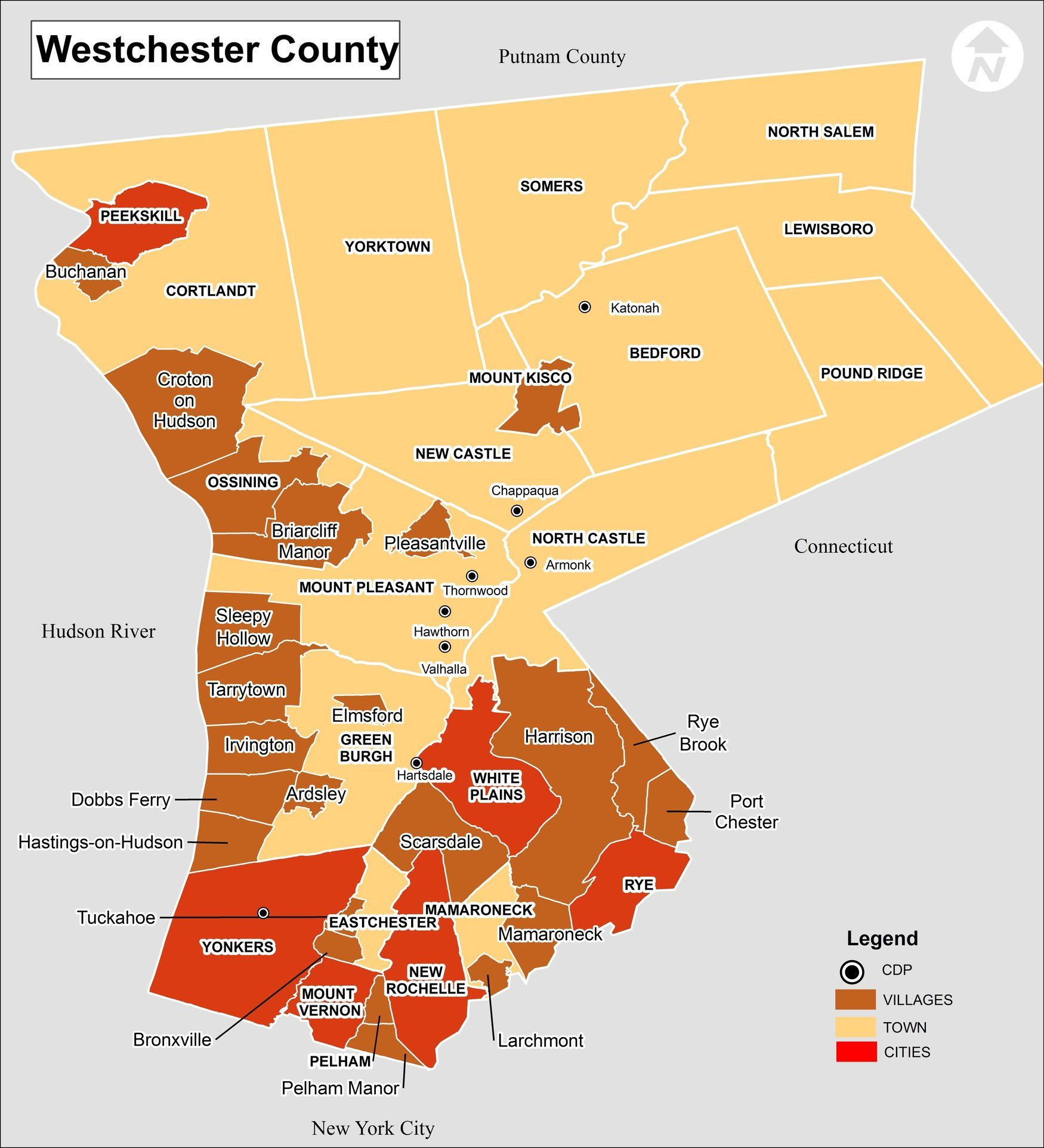 Westchester County Map Afp Cv