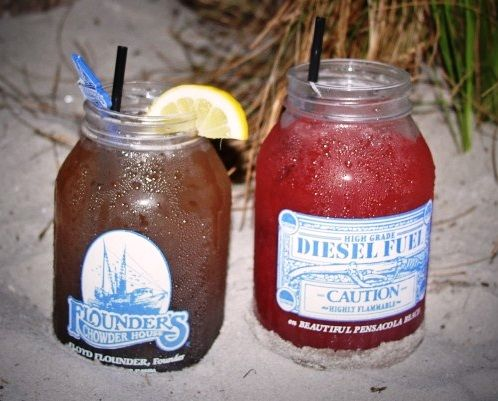 Diesel Fuel Drink Mason Jars Cranberry Amp Original