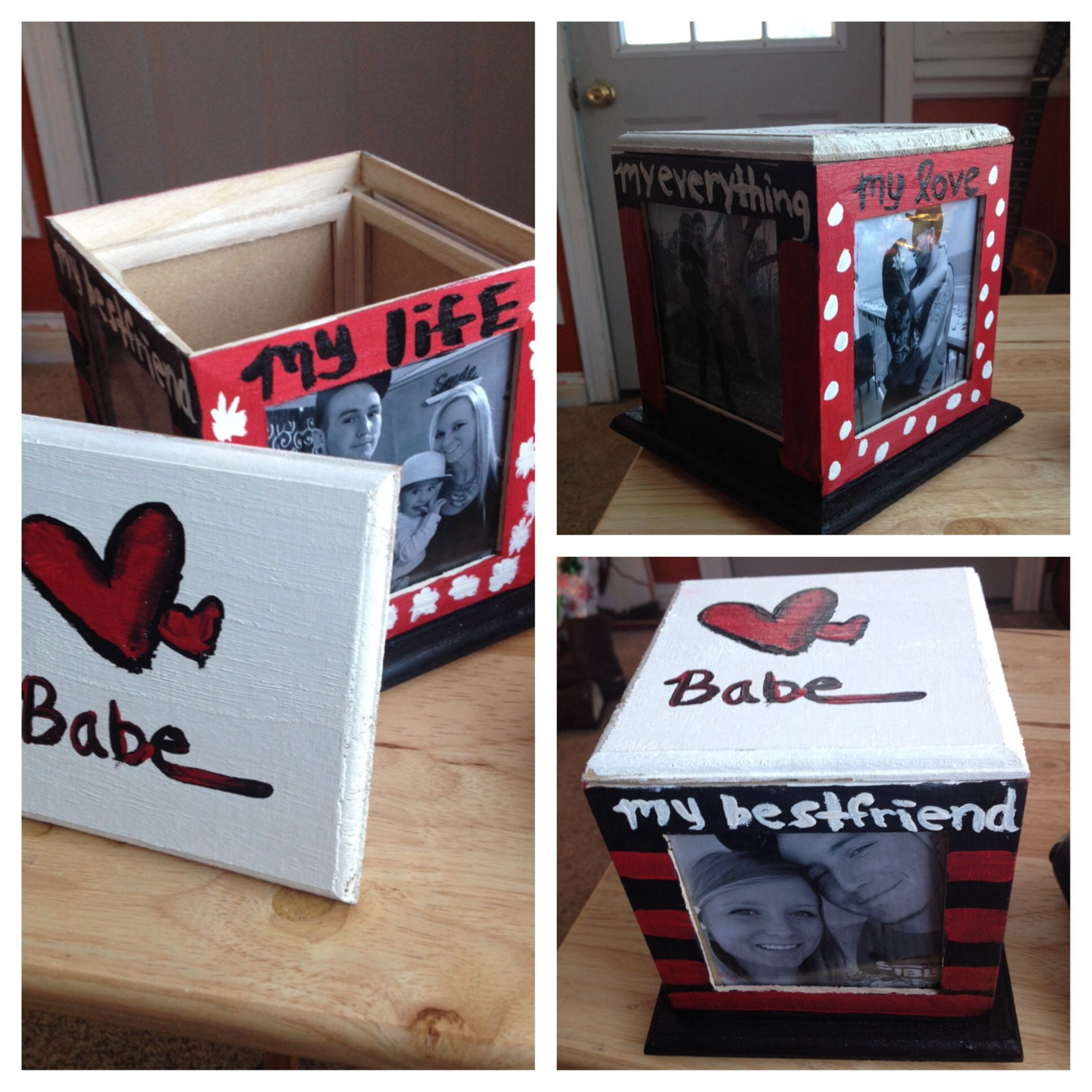 Cheap DIY present for boyfriend, made this for Dan for