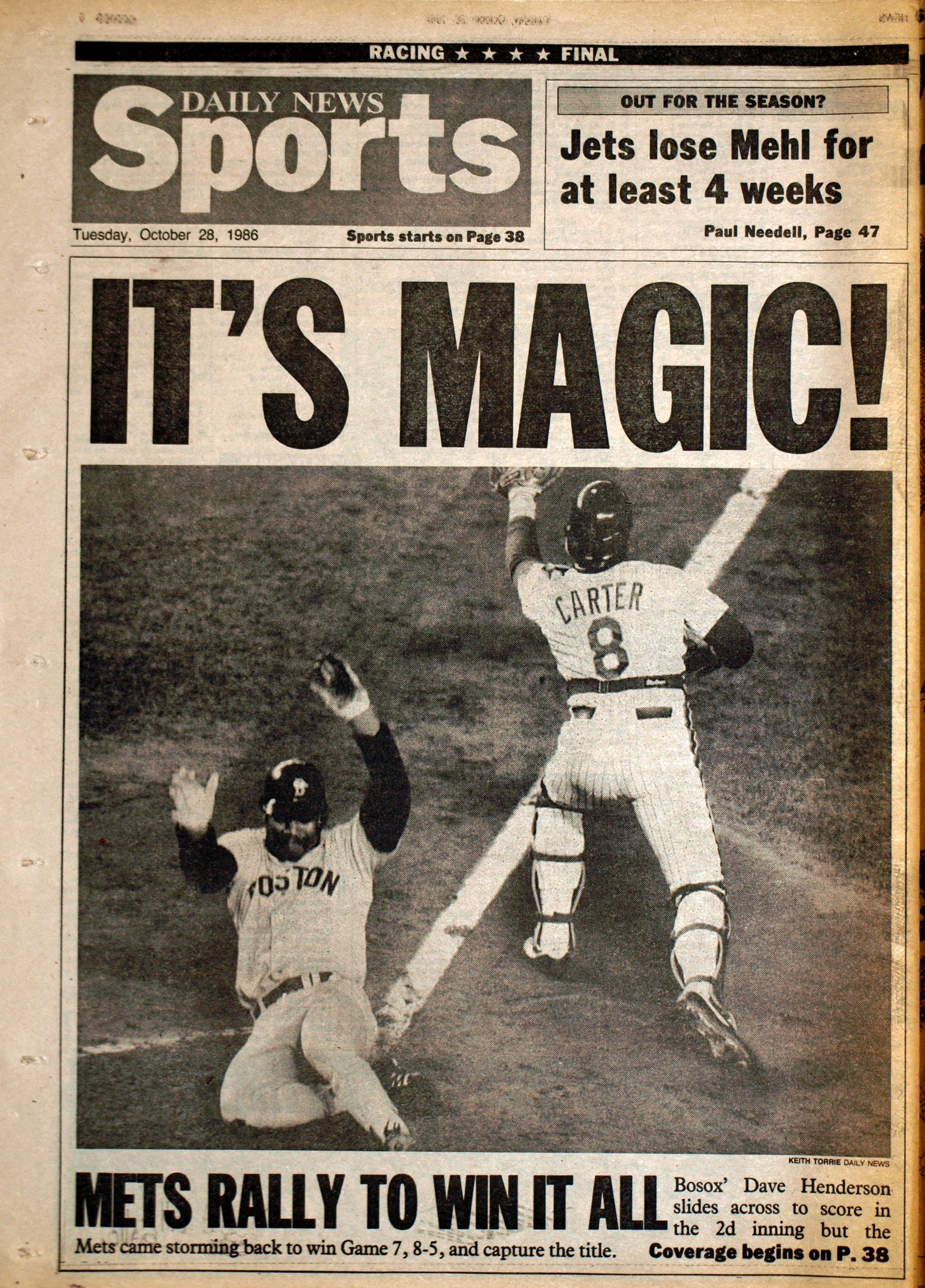 1986 World Series 1986 World Series Game