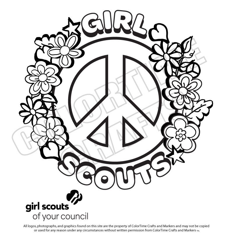 girl scout printables  bing images  girl scouts