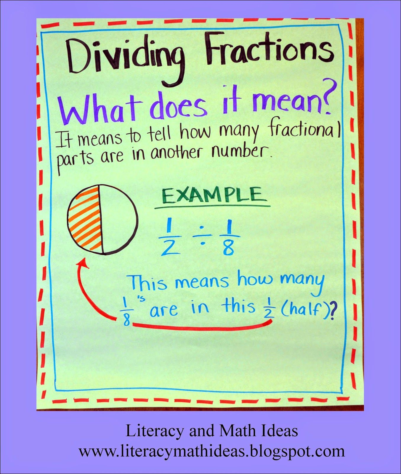 5th Grade Multiplying Fractions Performance Task