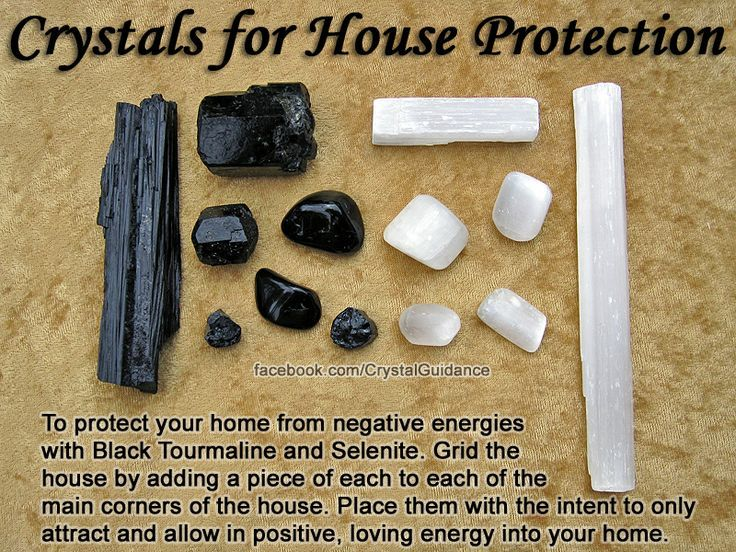 Crystals for protecting your home ive been receiving
