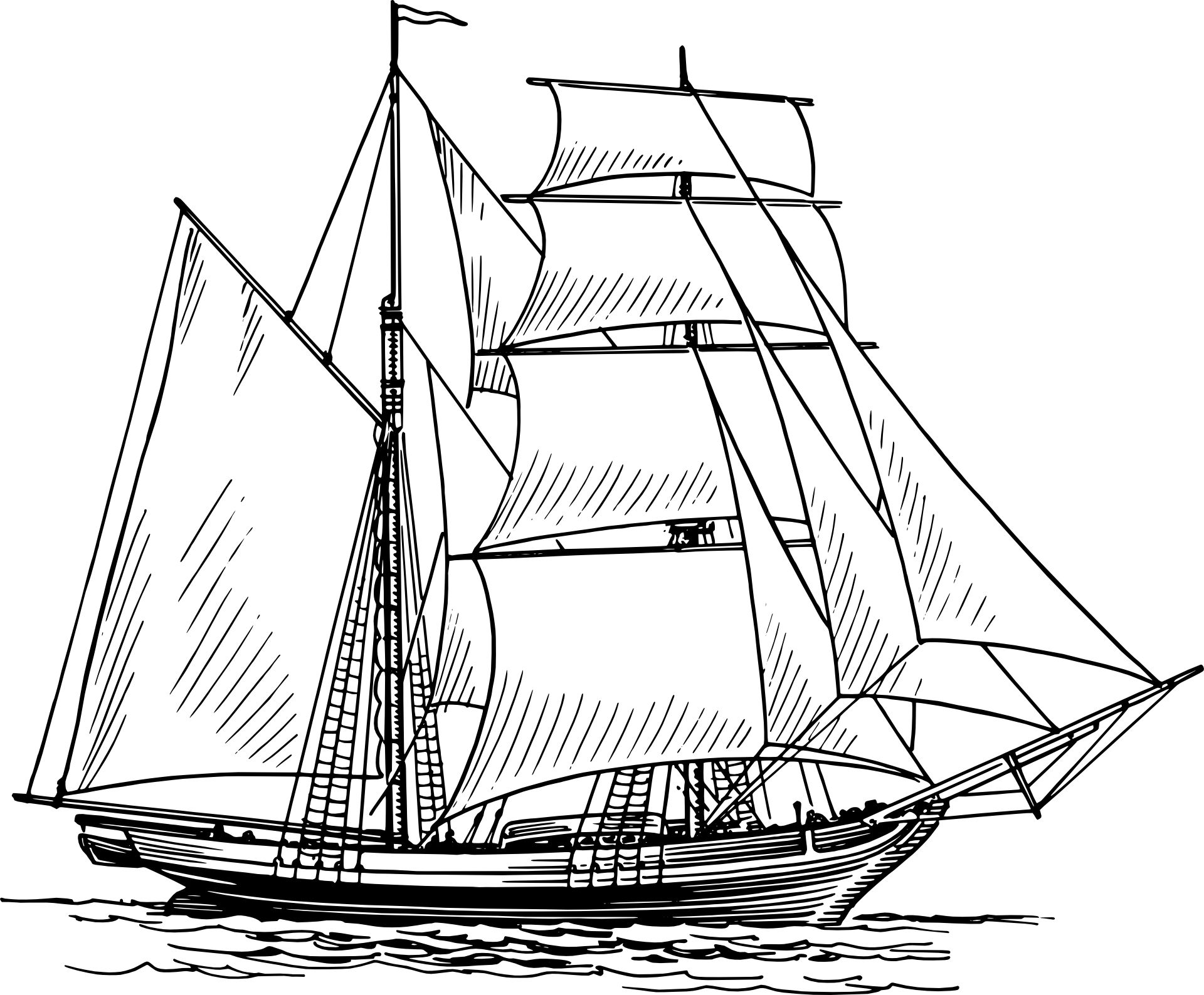 Boat Drawings
