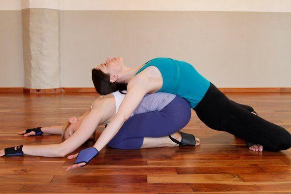 Yoga Poses For Two Easy Av Workout