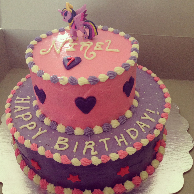 My Little Pony Twilight Sparkle Themed Cake
