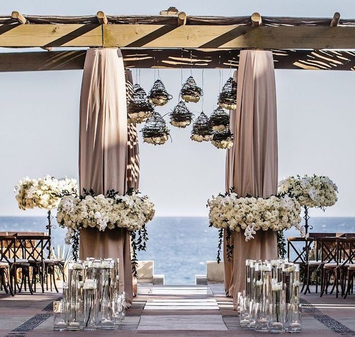 Stunning Beach Wedding Ceremony Ideas Wedding ceremony ideas