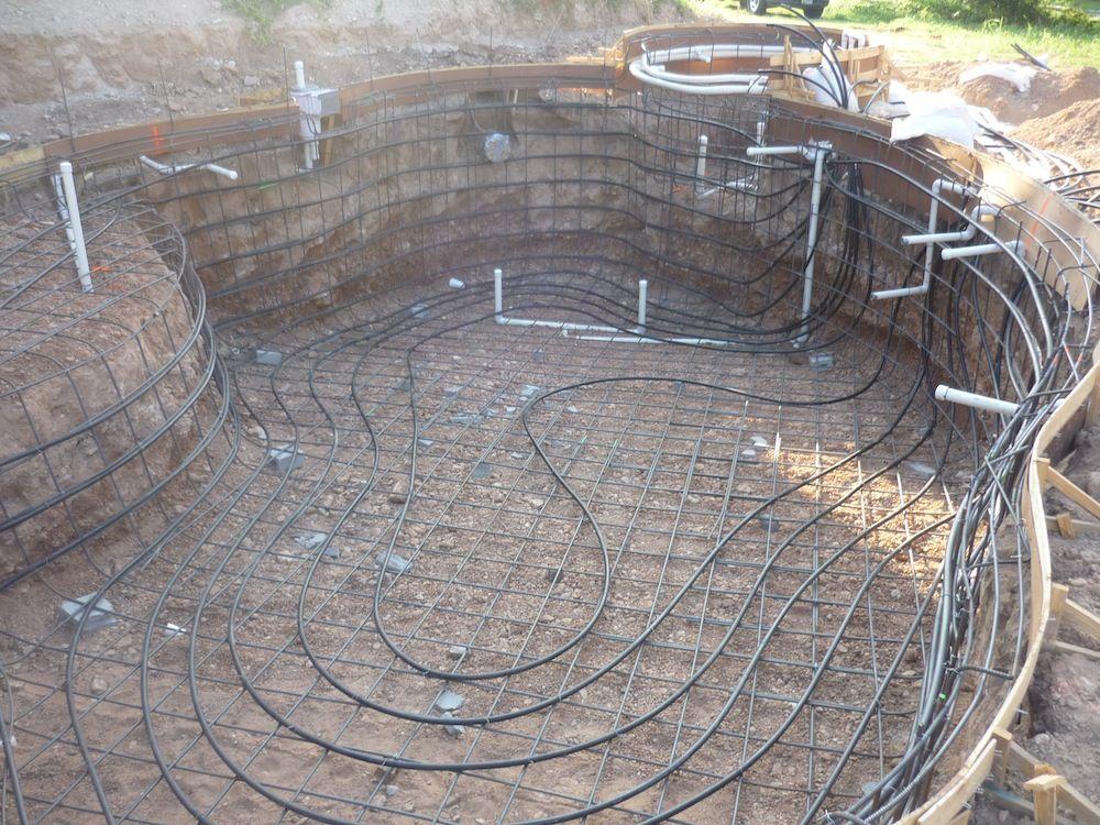 pool geothermal heat pump heat exchanger install Home