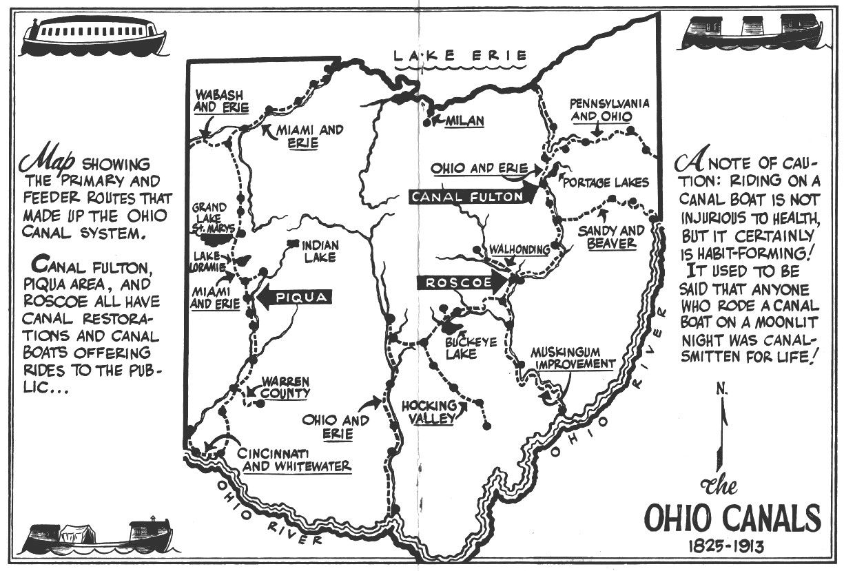 Ohio To Erie Trail Map North East Section