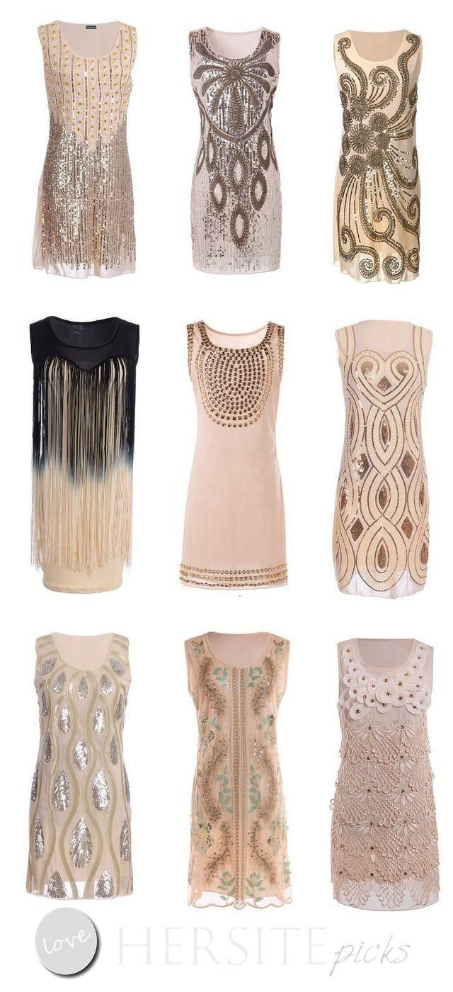 15 Gatsby Style 1920s Flapper Dresses You Can Buy Under