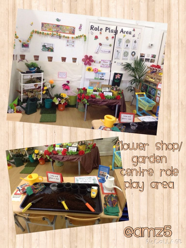 Flower shop role play Early Years My classrooms