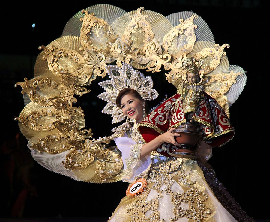 ANOTHER SINULOG DE CEBU NATIONAL COSTUME WINNER IN THE