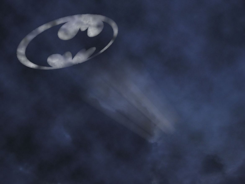 Bat signal to call Batman