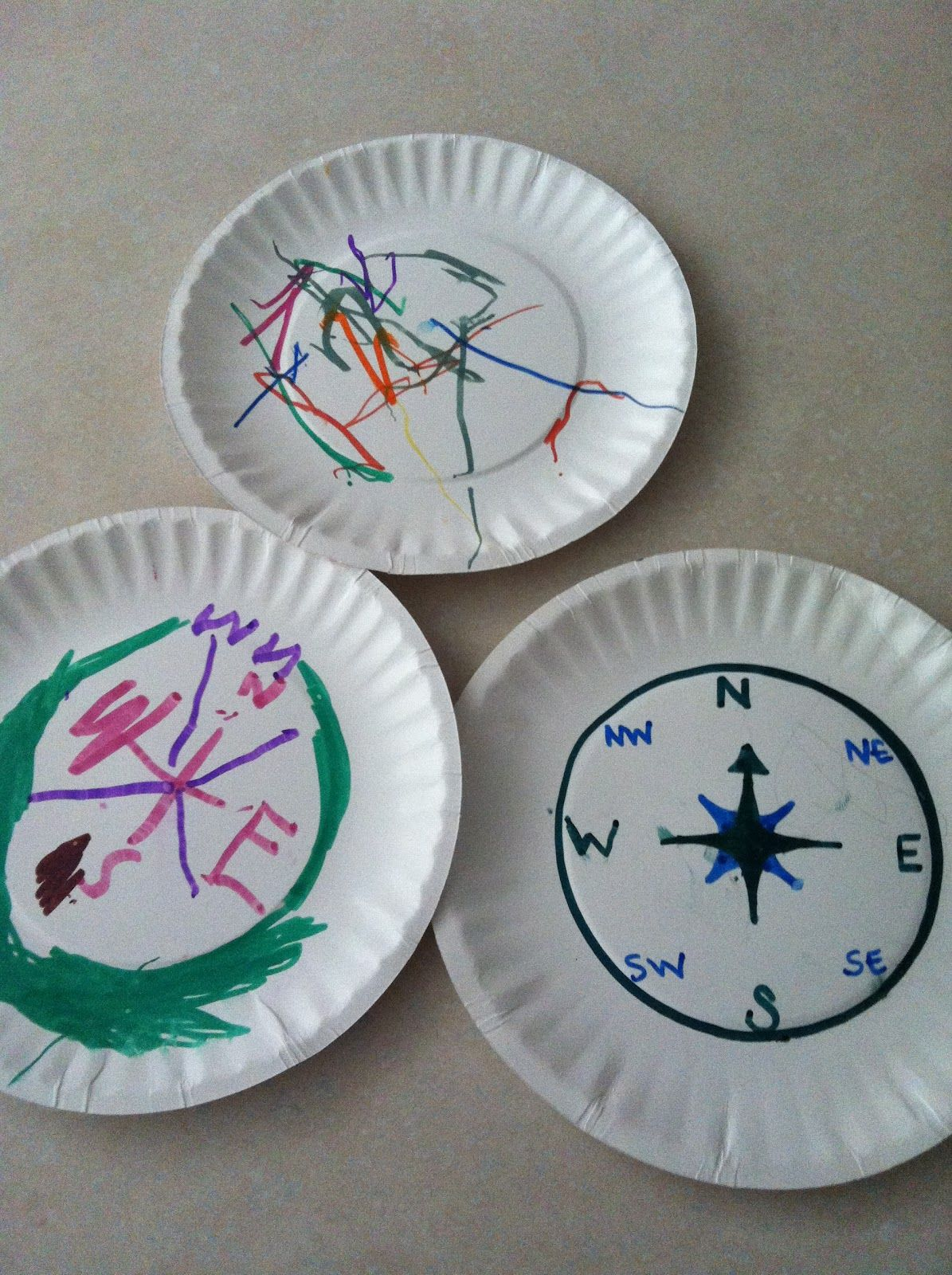 Compass Crafts For Kids