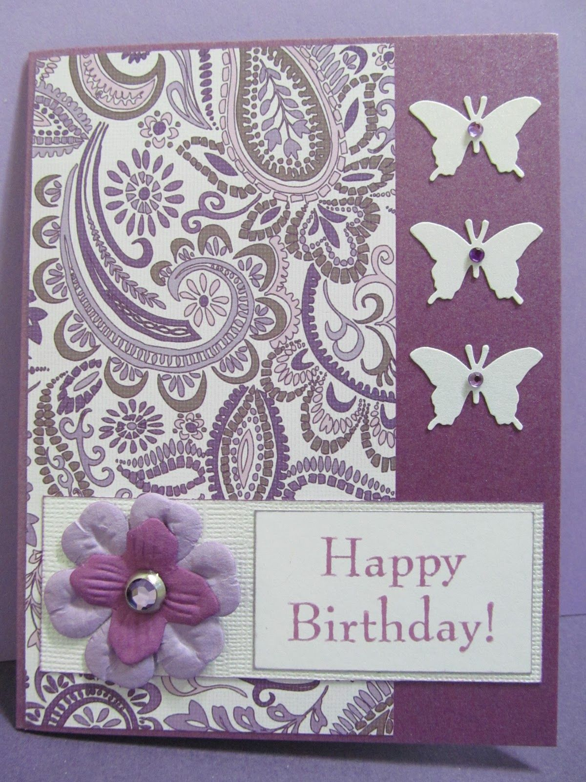 Purple Birthday Wishes for Her Posts related to handmade