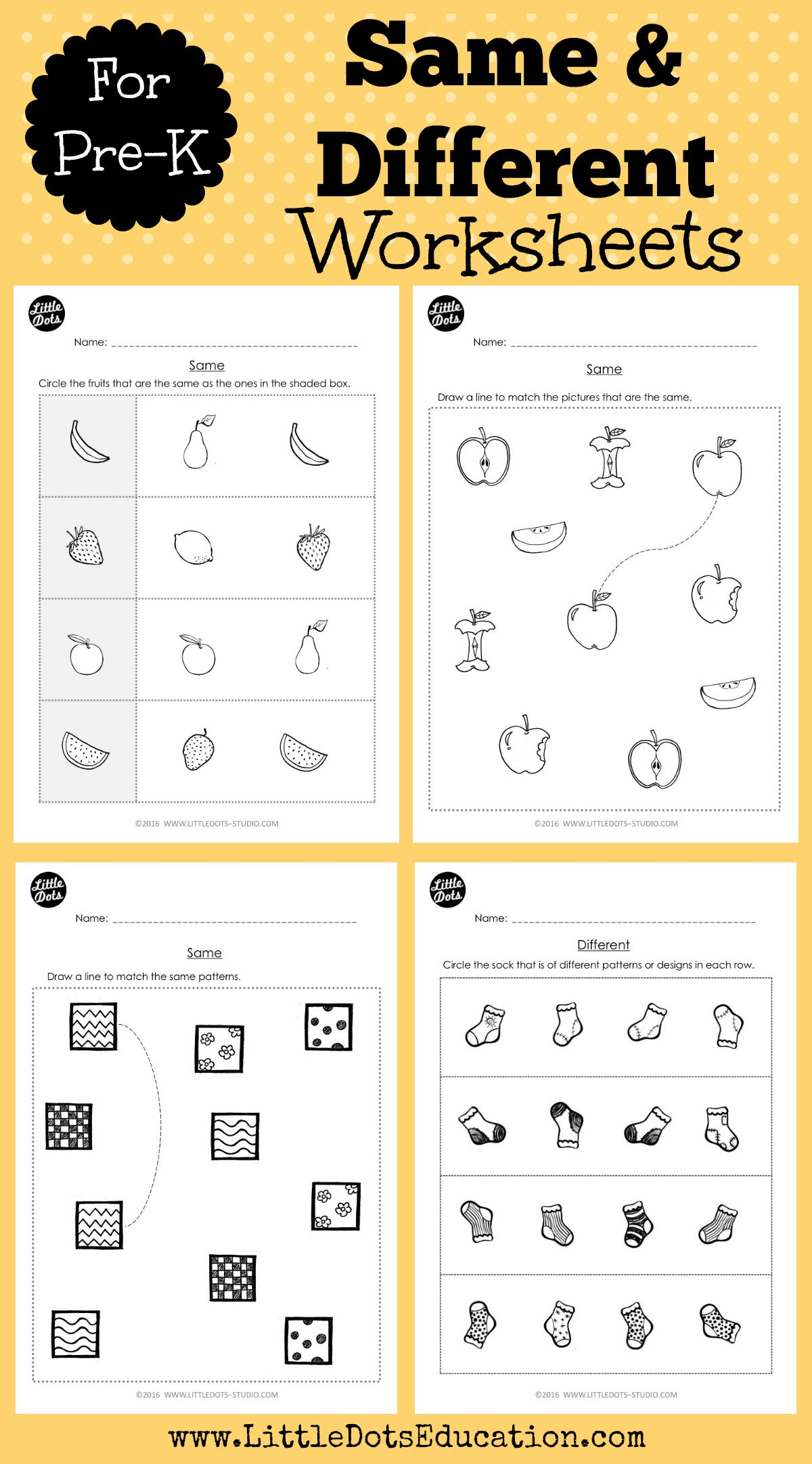 Download Worksheets And Activities To Learn The Concept Of