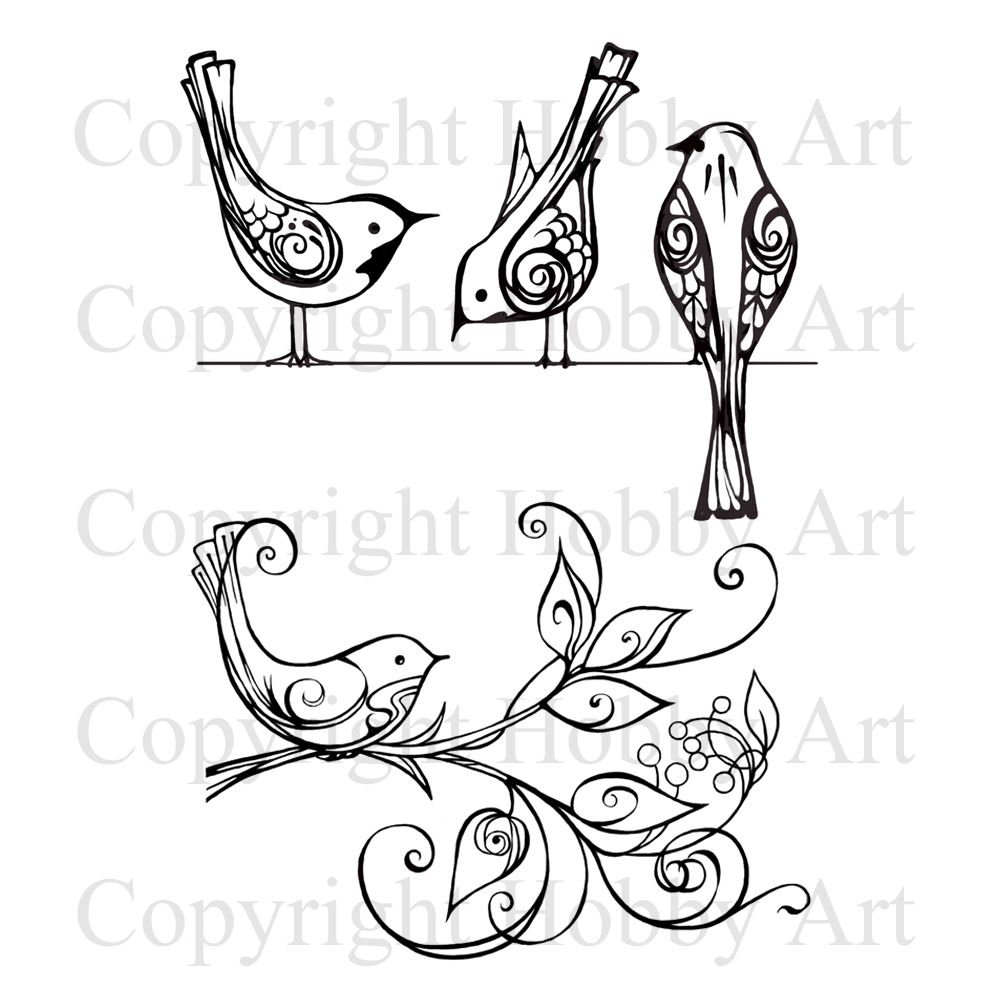 This is the gorgeous new birds on wire plant set designed by