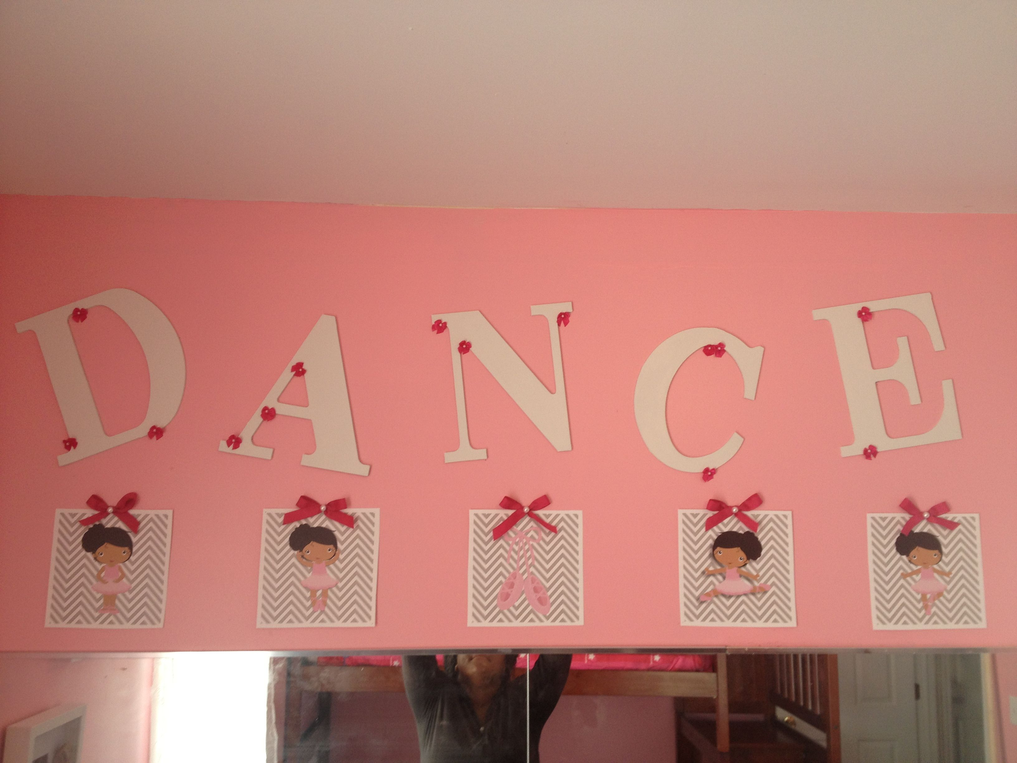 Ballerina Bedroom Decor African American Ballerina