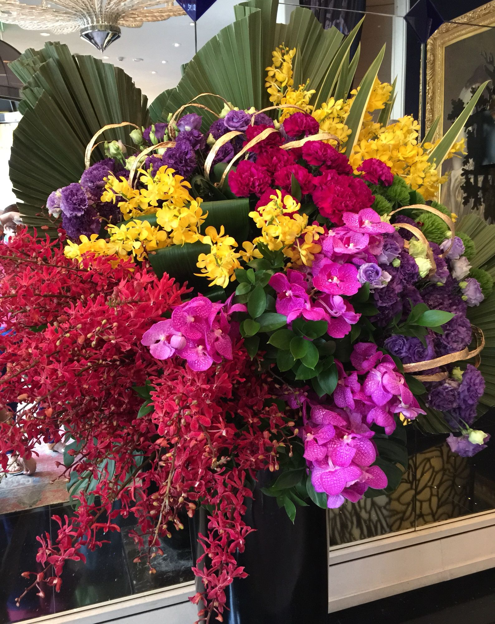 Flowers in Hotel lobby, Taiwan Hotel Florals Pinterest