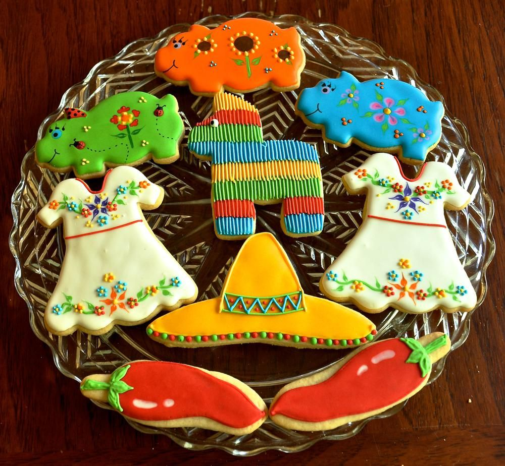 Fiesta Cookies Cookie Connection Cookie Stuff