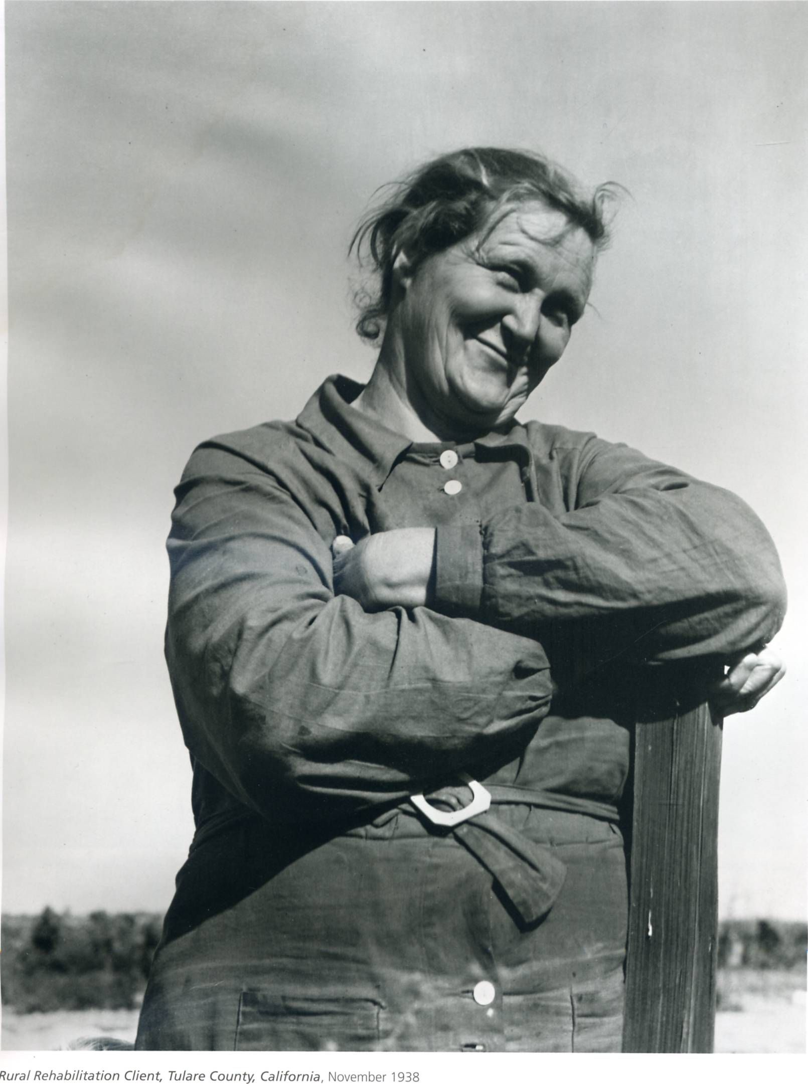 Dorothea Lange. The woman who made such famous photos