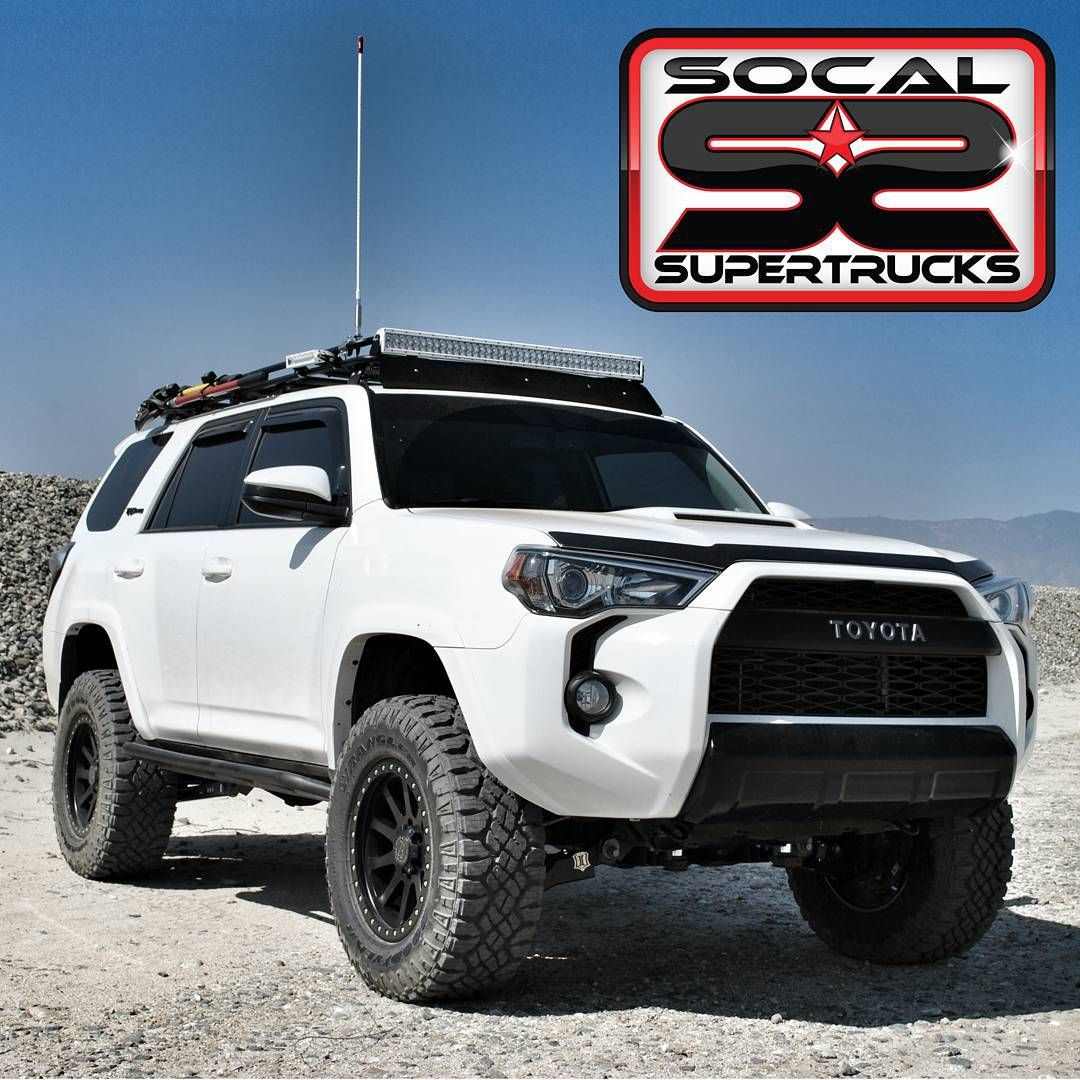 «4RunnerFriday . This 2015 4Runner with an ICON Vehicle