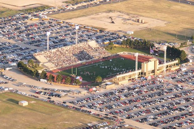 Ratliff Stadium In Odessa TX Seats 19302 And Is The Home