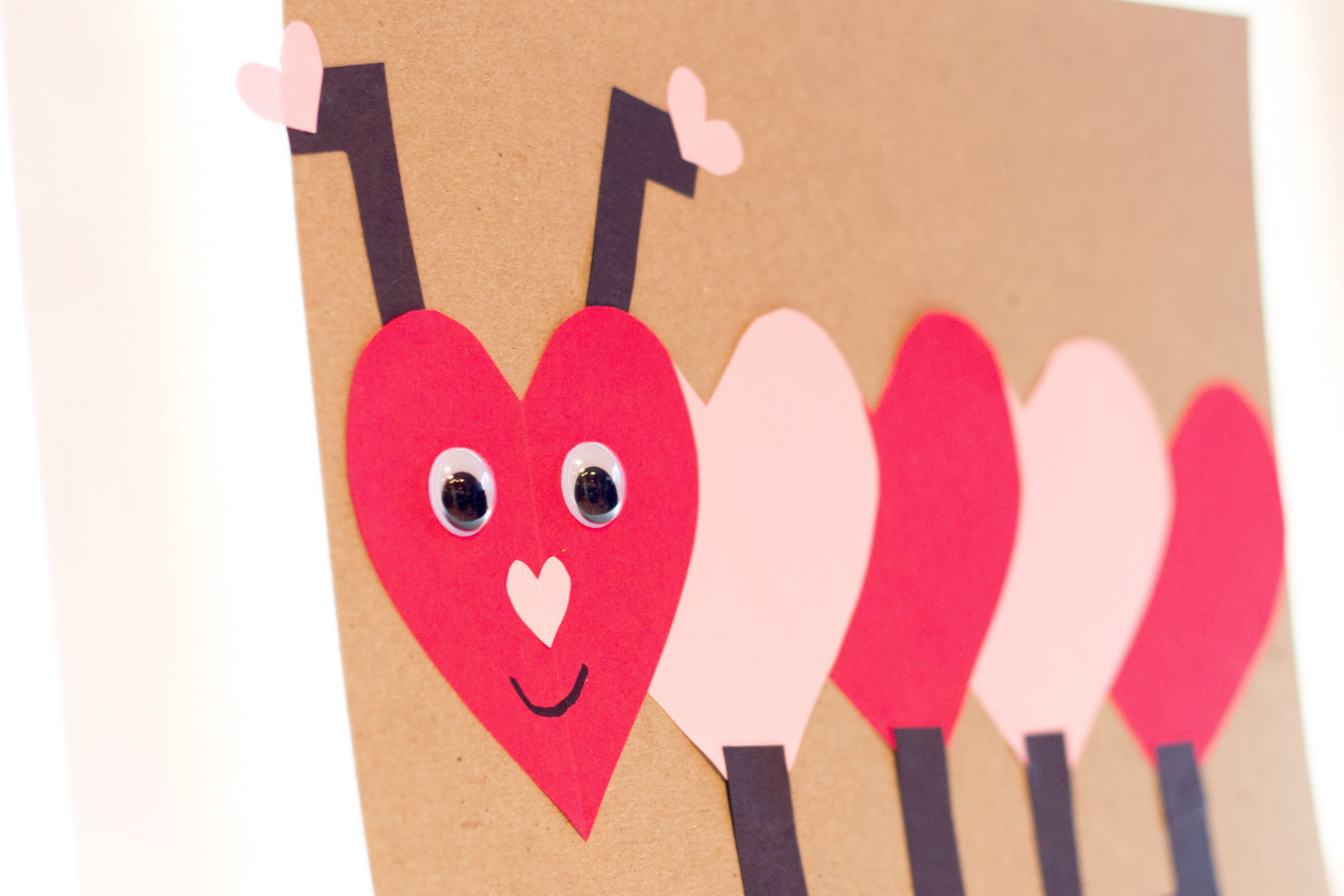Valentine S Day Caterpillar Craft Idea For Pre K