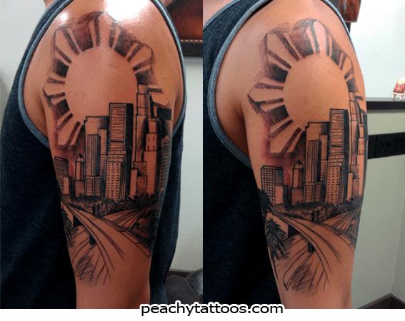 los angeles tattoos Tattoo ideas Pinterest Tattoo