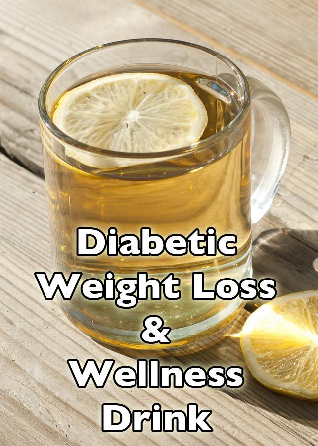 A great diabetic weight loss drink that also helps lower