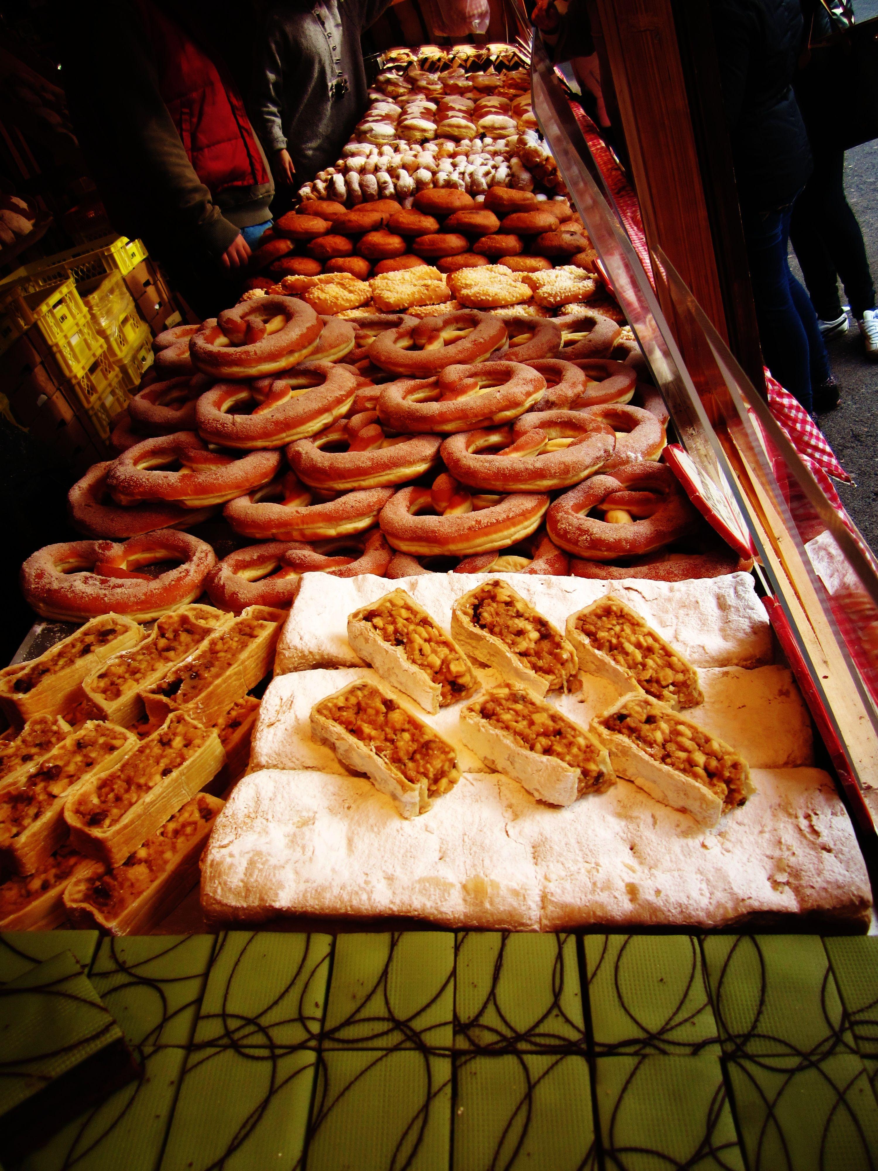 Christmas market treatsViennaAustria Christmas market