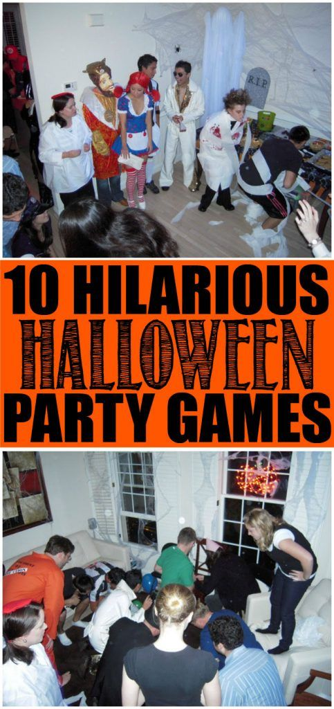 10 Hilarious Halloween Party Games Kids and Adults will