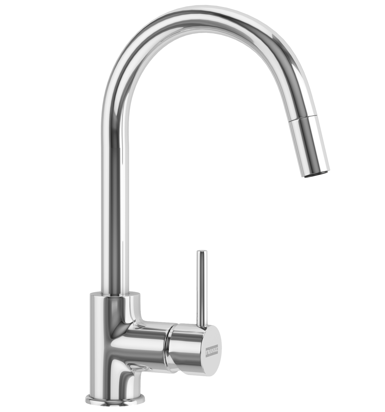 Franke Aria Pull Out Nozzle Chrome Kitchen Mixer Tap At