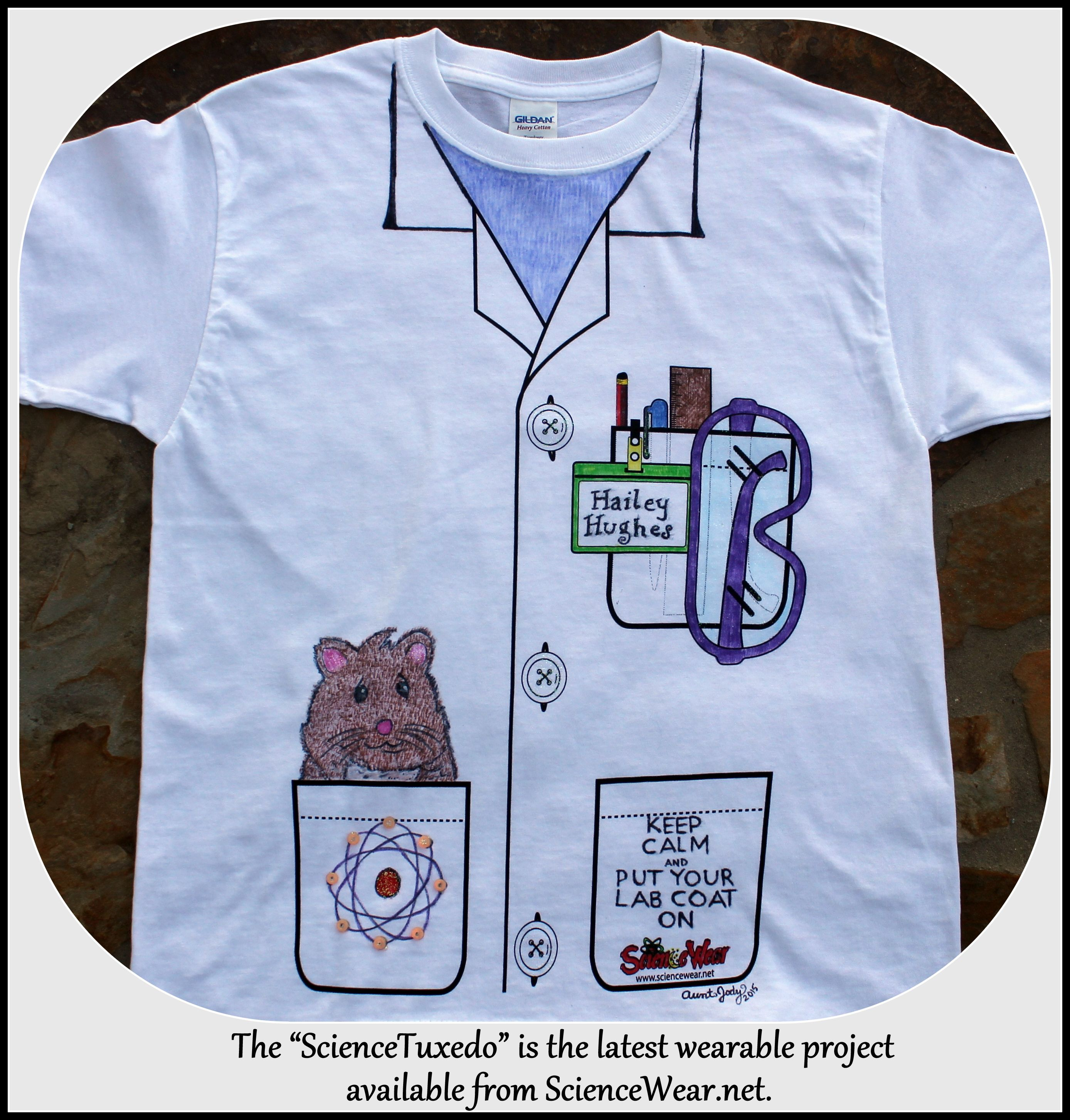Science Tuxedo Shirt Project For The Classroom Now Everyone Can Have Their Own Lab Coat Bulk