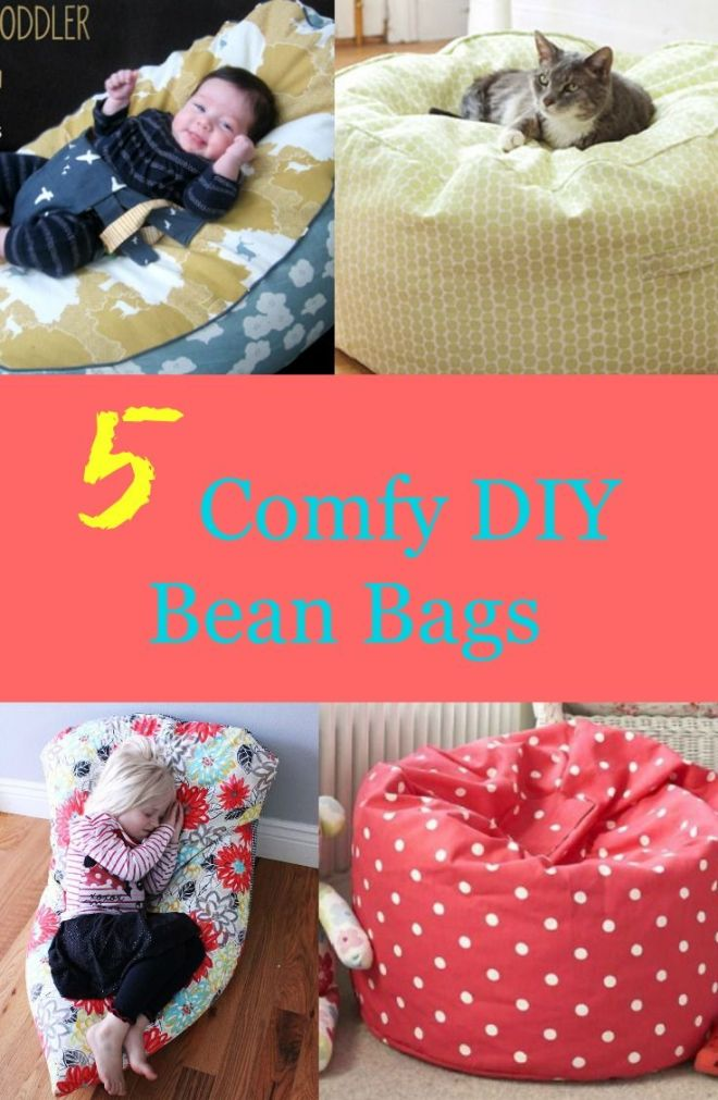 5 comfy diy bean bags bags for kids and upholstery fabrics