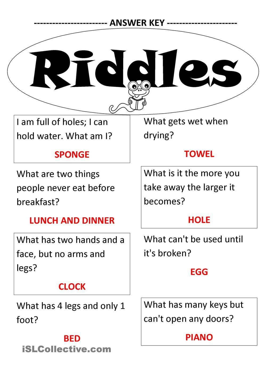 Riddles … Pinteres…