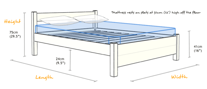 Standard Size For Beds
