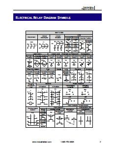 Electrical Relay Diagram and P Symbols | Library EE │Pics