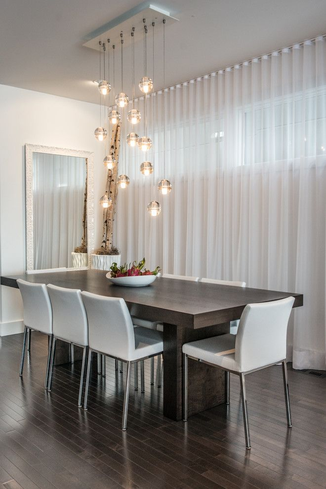 Calgary Chandeliers Cer Pendant Lights Dark Wood Dining Table Floor Mirror