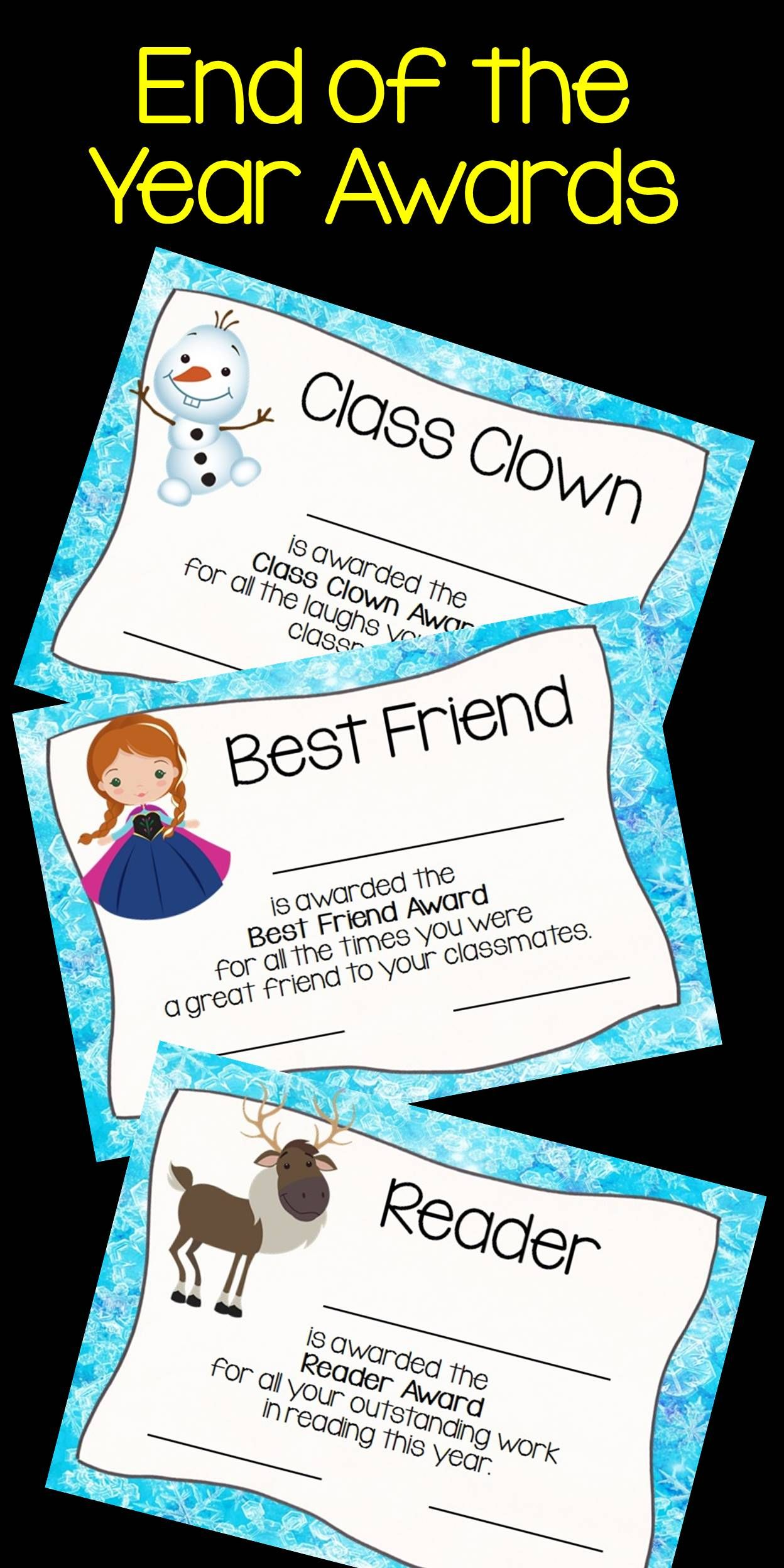 21 Of The Most Adorable Frozen Inspired Awards Are Just