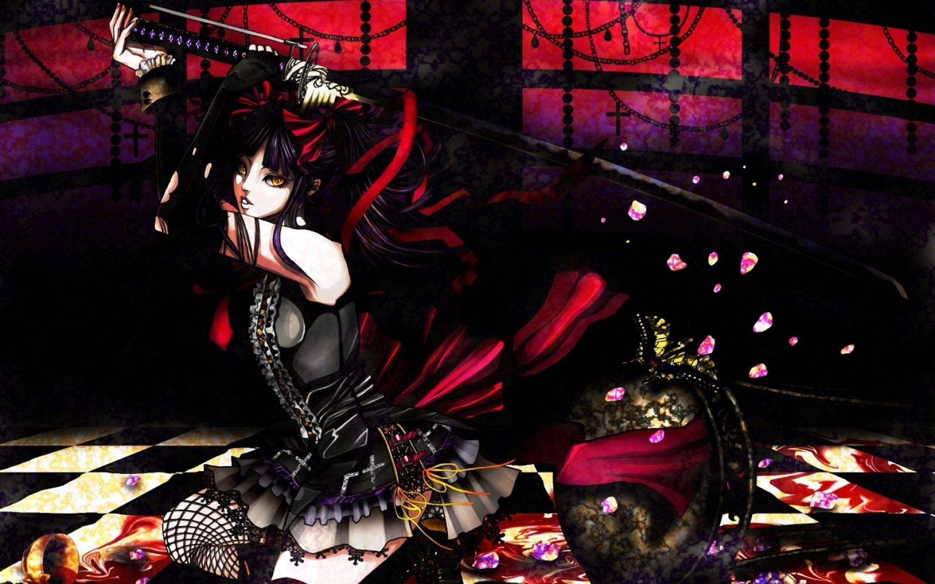 HD Gothic Anime Wallpapers. anime Pinterest Gothic