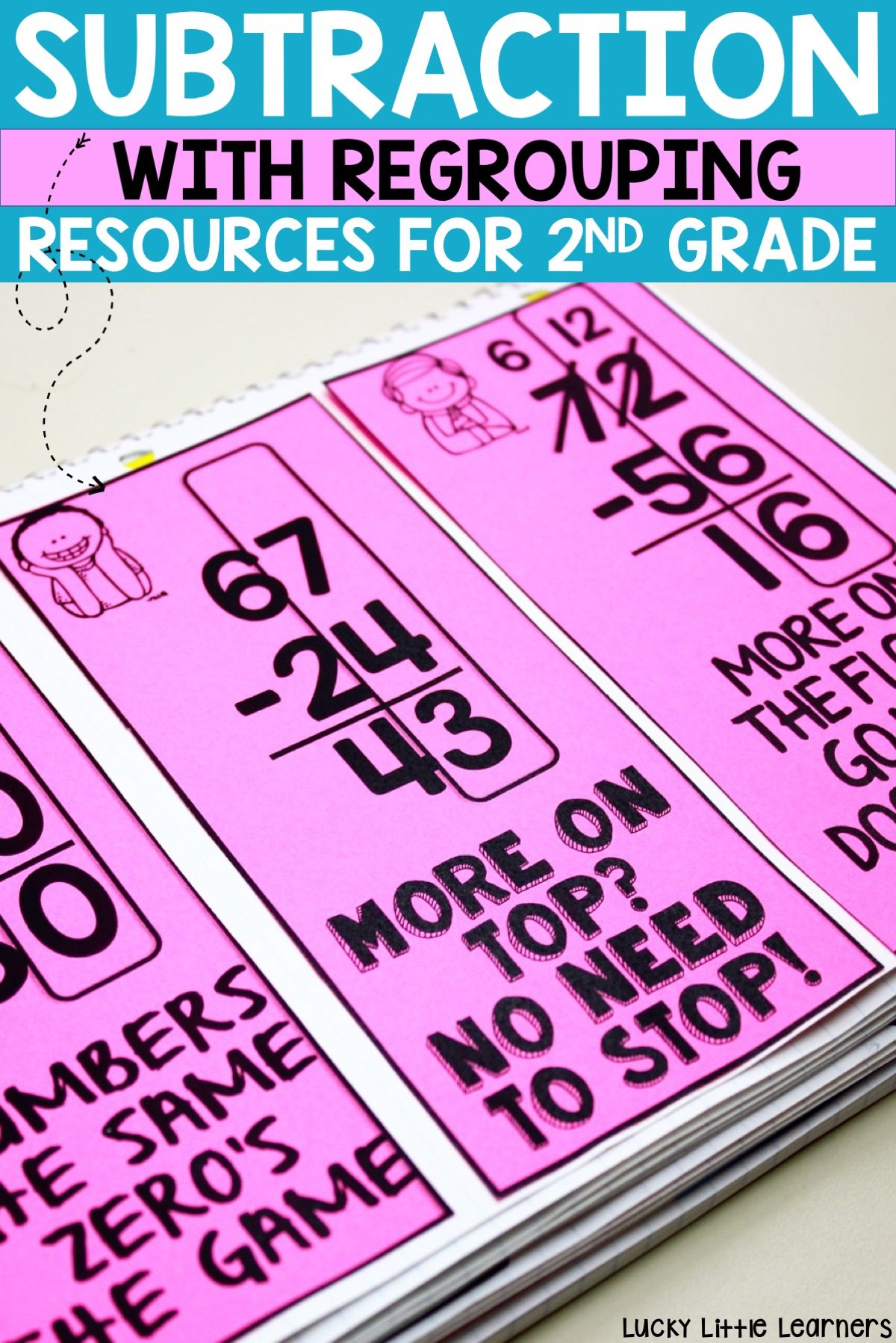 Everything You Need To Teach Subtraction With Regrouping