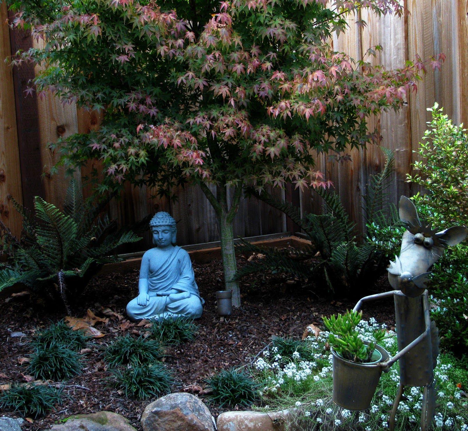 small space garden Small spaces already feel more