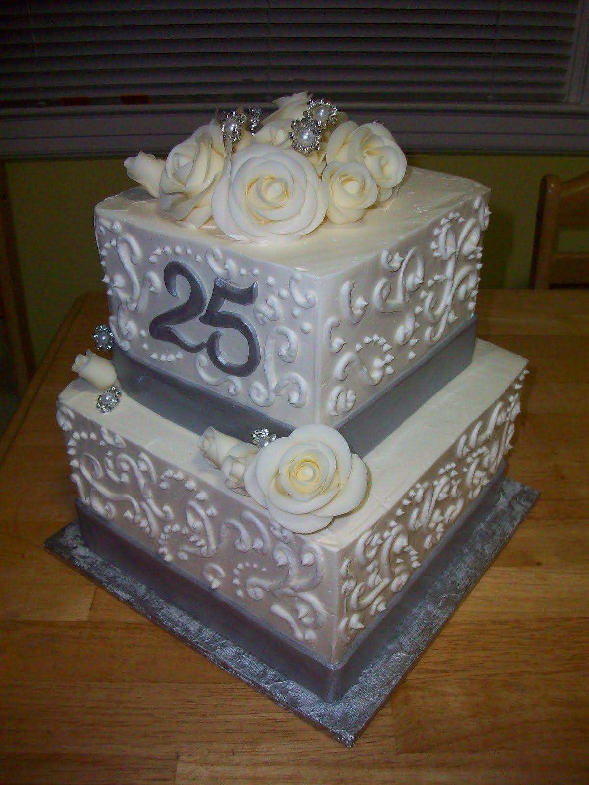 25 Anniversary Cake