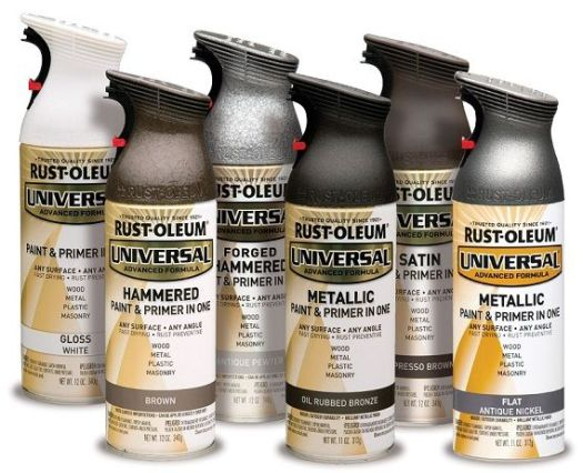 Rust Oleum Universal 11 Oz All Surface Metallic Satin Oil Rubbed Bronze Spray Paint
